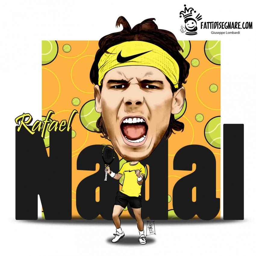 Rafael Nadal por fattidisegnare